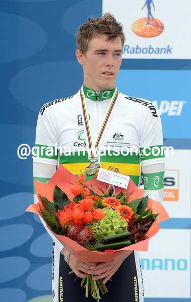 Rohan Dennis in the mens U-23 time trial championships