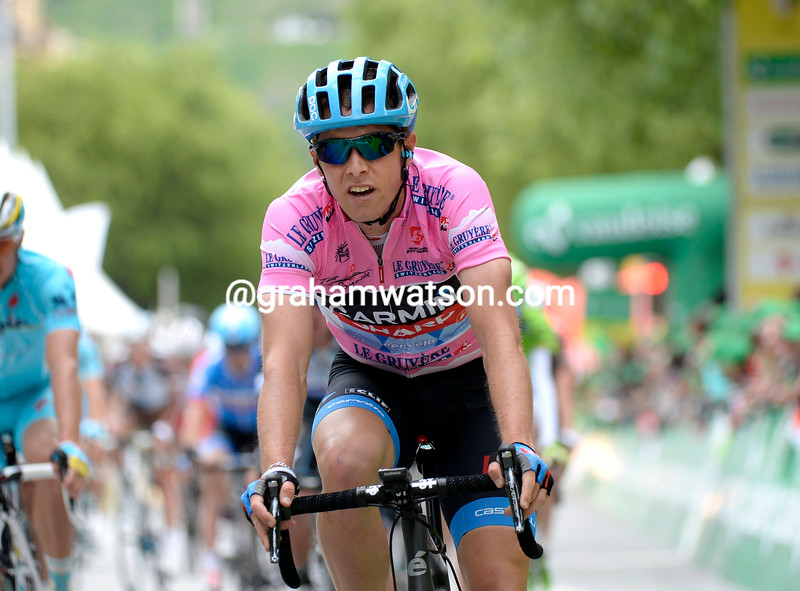 Rohan Dennis on stage one of the 2014 Tour de Roamndie