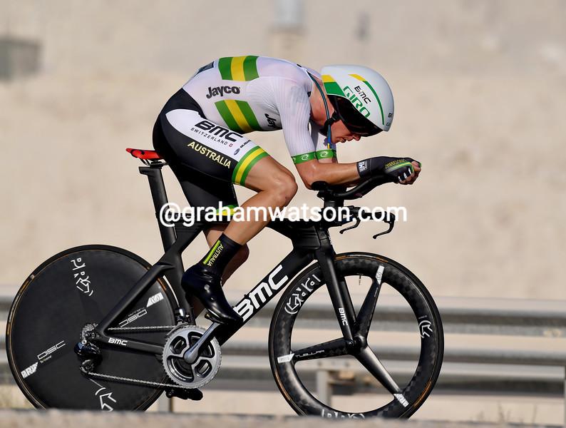 Rohan Dennis in the 2016 elite mens TT