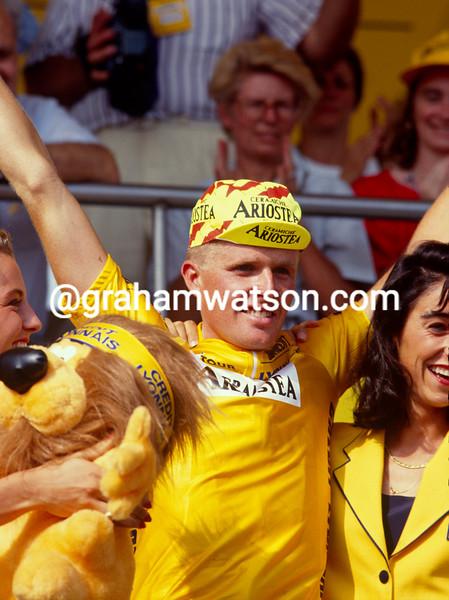 Rolf Sorensen in the 1991 Tour de France