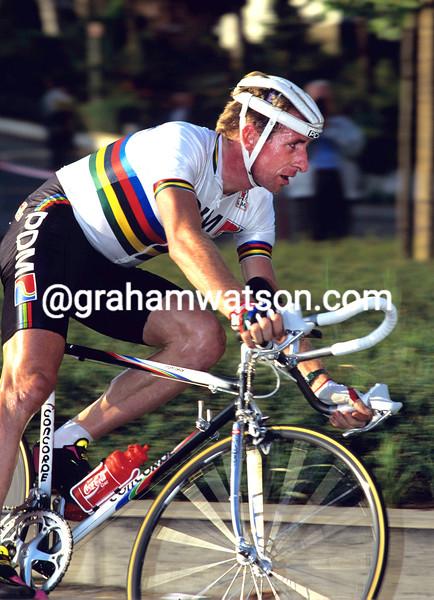 Rudy Dhaenens in the 1990 G.P. Eddy Merckx