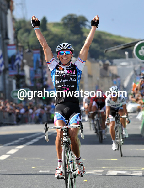RUSSELL DOWNING WINS STAGE ONE OF THE 2009 TOUR OF IRELAND
