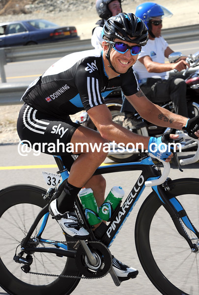 RUSSELL DOWNING ON STAGE SIX OF THE 2011 TOUR OF OMAN