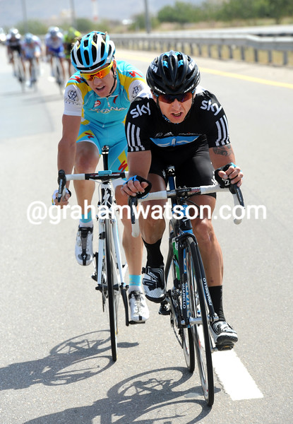 RUSSELL DOWNING ON STAGE FOUR OF THE 2011 TOUR OF OMAN