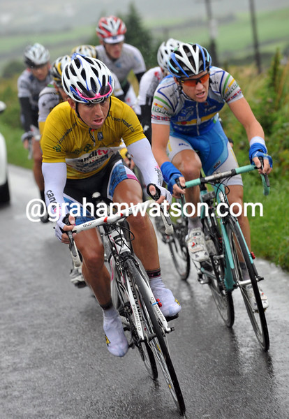 RUSSELL DOWNING ON STAGE THREE OF THE 2009 TOUR OF IRELAND