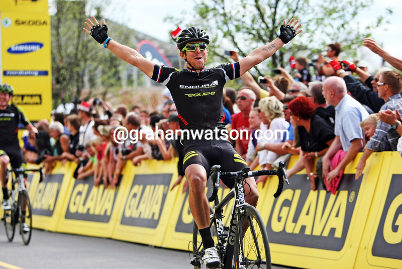 Russell Downing wins Stage 5 of the 2012 Tour of Norway