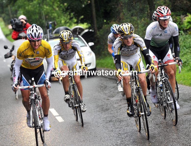 RUSSELL DOWNING AND CRAIG LEWIS LEAD AN ESCAPE ON STAGE THREE OF THE 2009 TOUR OF IRELAND