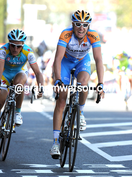 RYDER HESJEDAL TAKES SECOND PLACE IN THE 2010 AMSTEL GOLD RACE