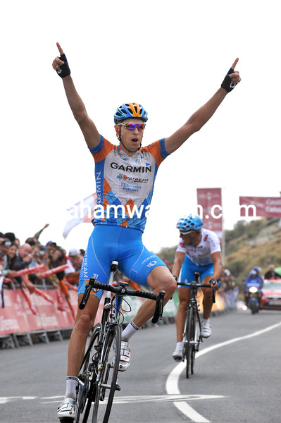 RYDER HESJEDAL WINS STAGE TWELVE OF THE 2009 TOUR OF SPAIN