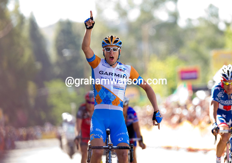Ryder Hesjedal has won a stage of the 2010 Tour of California