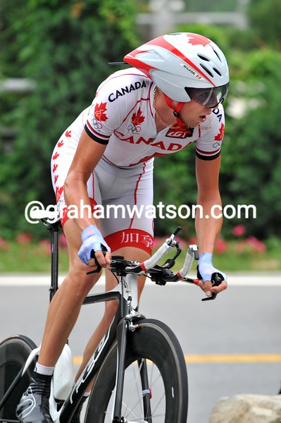 RYDER HESJEDAL AT THE 2008 OLYMPIC GAMES