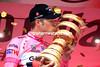 Ryder Hesjedal on stage twenty one of the 2012 Giro d'Italia