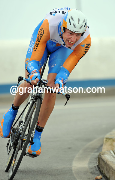 RYDER HESJEDAL ON STAGE FIVE OF THE 2010 TOUR OF ALGARVE