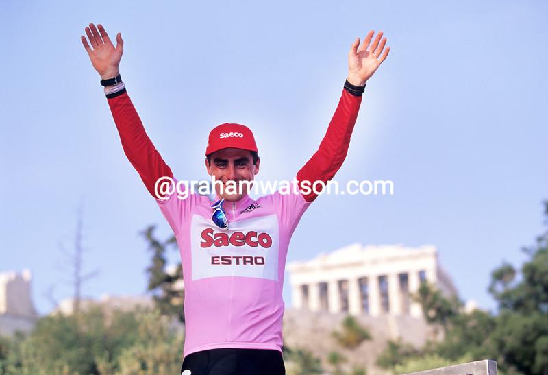 Silvio Martinello in the 1997 Giro d'Italia