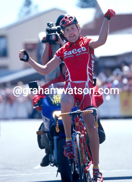 Alessio Galletti in the 2003 Tour Down Under