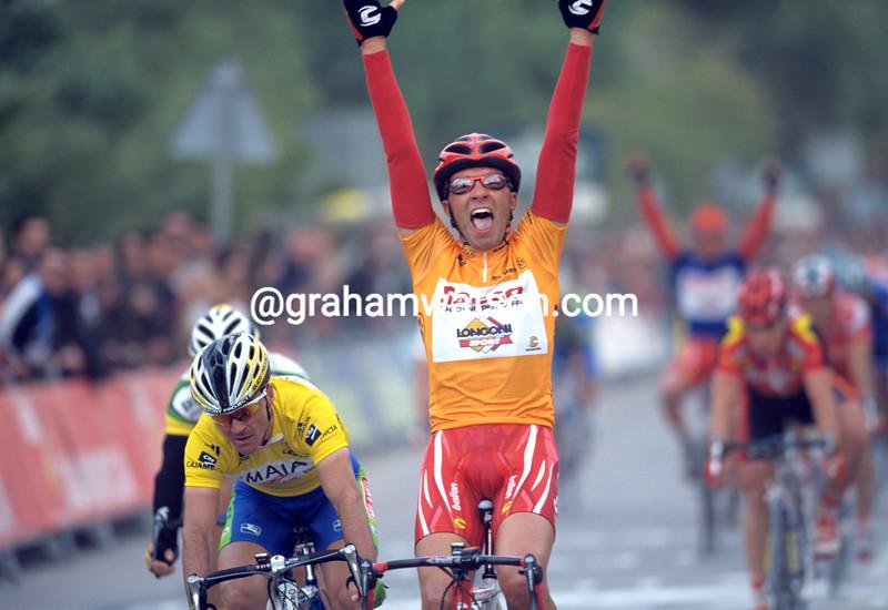 Fabio Sacchi in the Tour of Murcia