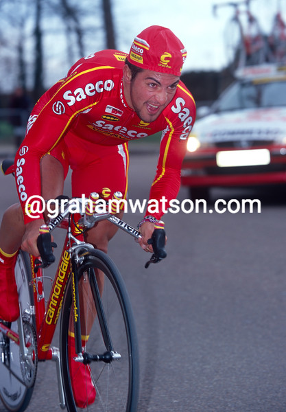 Salvatore Commesso in the 2000 Paris-Nice