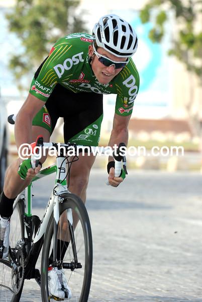 SAM BENNETT IN THE 2011 TOUR OF QATAR