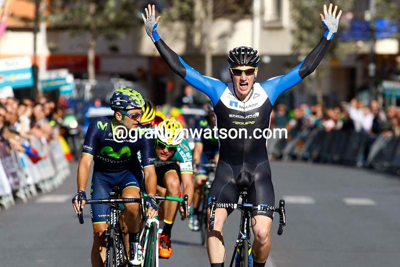 Sam Bennett wins the 2014 G.P. Almeria