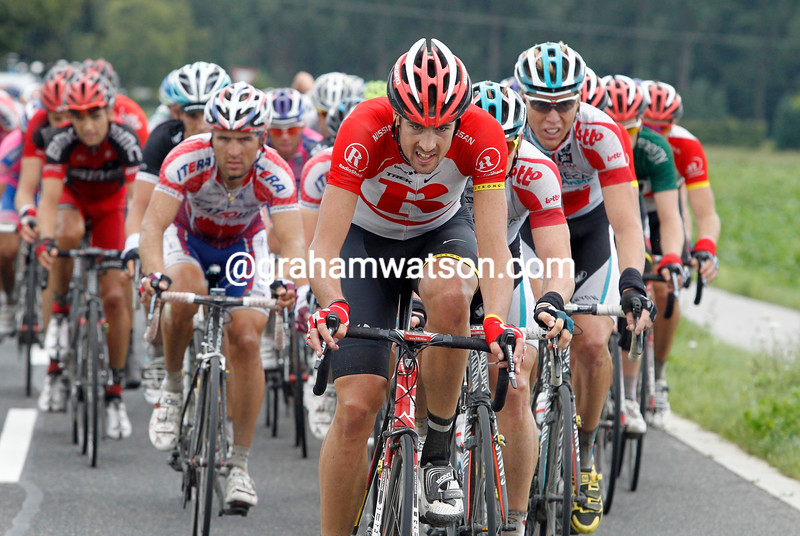 SAM BEWLEY ON STAGE SIX OF THE 2011 ENECO TOUR