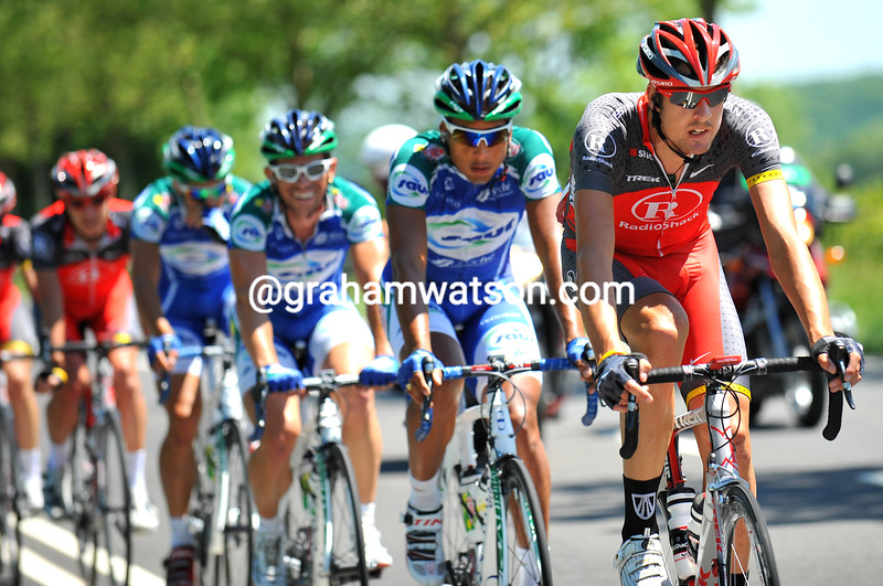 SAM BEWLEY IN THE 2010 TOUR OF LUXEMBOURG