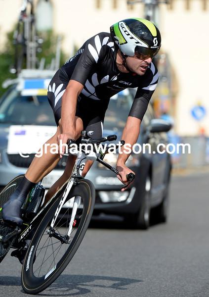 Sam Bewley in the mens TT World Championship 2013