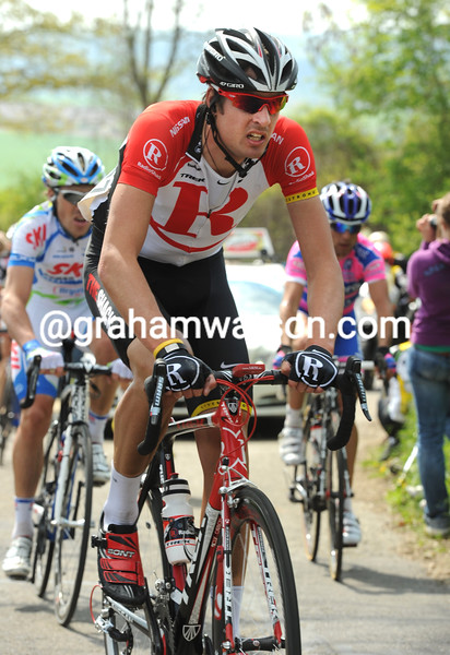 SAM BEWLEY IN THE 2011 AMSTEL GOLD RACE