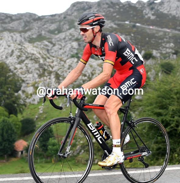 Sammy Sanchez on stage 10 of the 2016 Vuelta a España