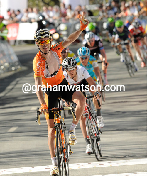 SAMMY SANCHEZ WINS STAGE FOUR OF THE 2011 TOUR OF THE BASQUE COUNTRY