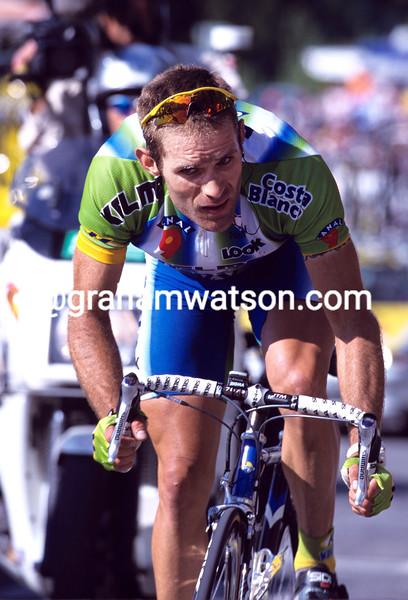 Santiago Botero in the 2001 Tour de France