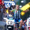 Santiago Botero wins a stage of the 2002 Tour de France