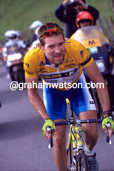 Santiago Botero in the 2001 Tour of Spain