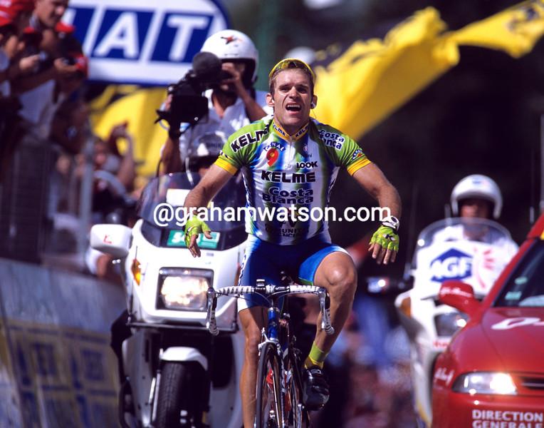 Santiago Botero in the 2000 Tour de France