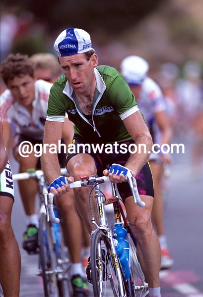 Sean Kelly in the 1992 World Championships