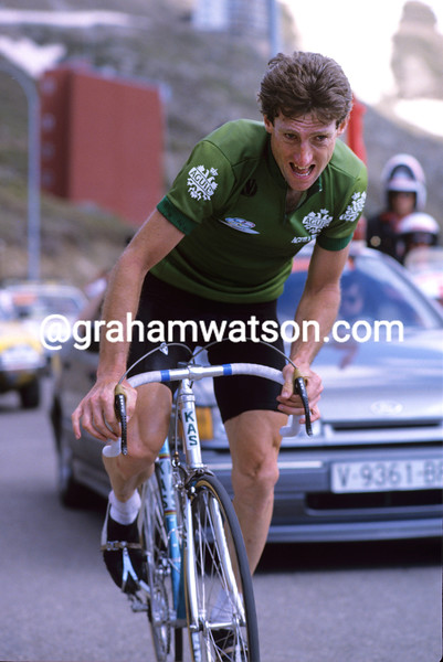Sean Kelly in the 1988 Tour of Spain