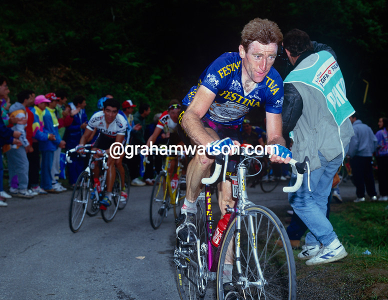 Sean Kelly in the 1992 Tour de France