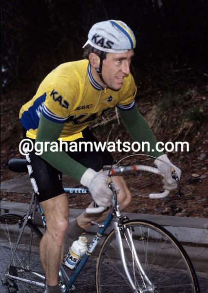 Sean Kelly in the 1986 Paris-Nice