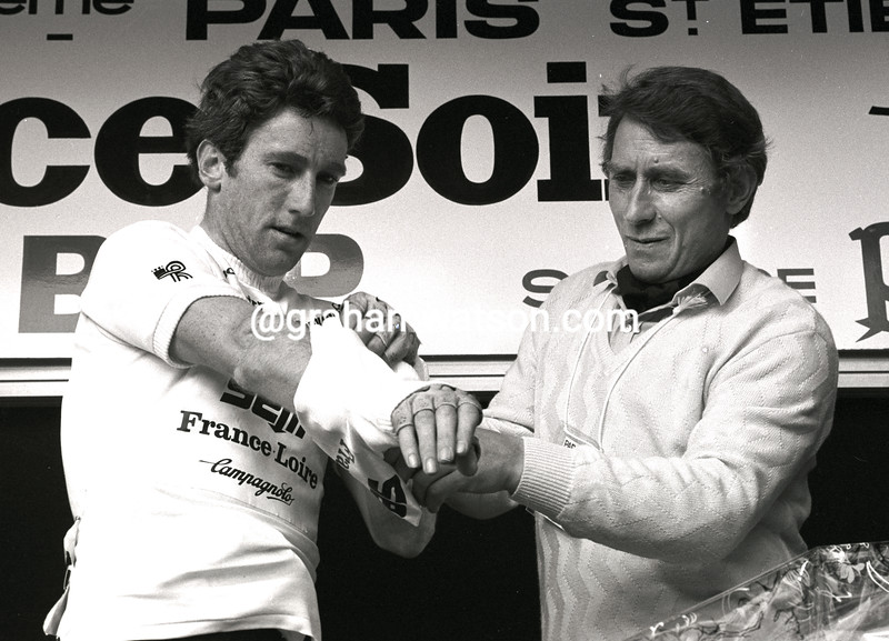 SEAN KELLY AND JACQUES ANQUETIL