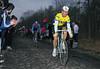 Sean Kelly in the 1986 Paris-Roubaix