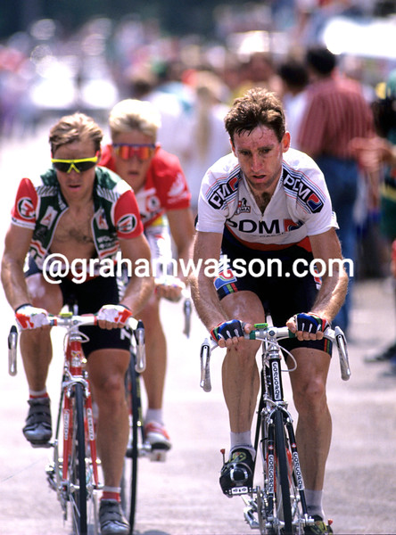 Sean Kelly in the 1990 Tour de France