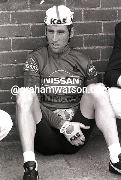 SEAN KELLY IN THE 1986 TOUR OF IRELAND