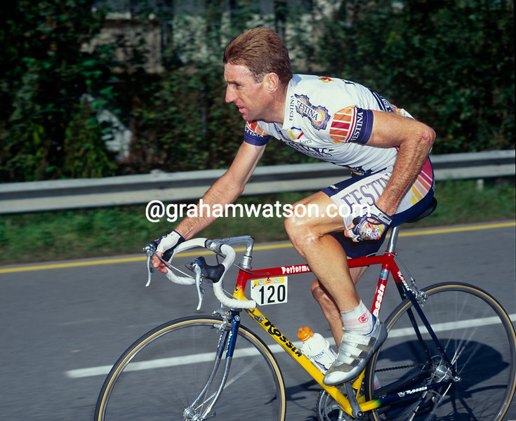 Sean Kelly in the 1992 Giro d'Italia