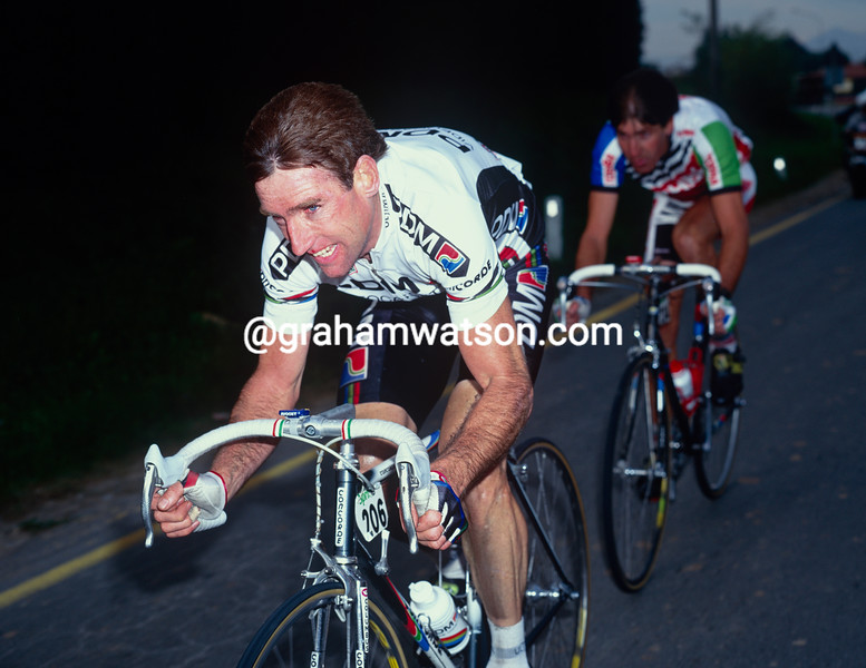 Sean Kelly in the 1991 Giro di Lombardia
