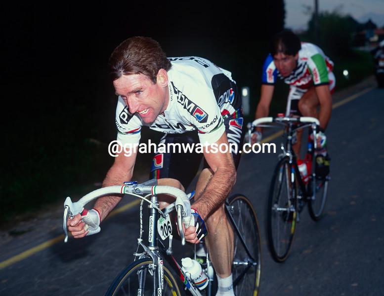 Sean Kelly in the 1991 Giro di Lombardia