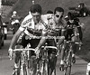 Sean KELLY AND FRANCO BALLERINI IN THE 1991 GIRO DI LOMBARDIA