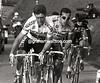 Sean KELLY AND FRANCO BALLERINI IN THE 1991 GIRO DI LOMBARDIA