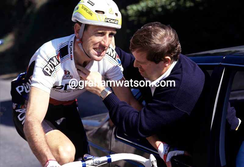 Sean Kelly in the 1989 Paris-Nice