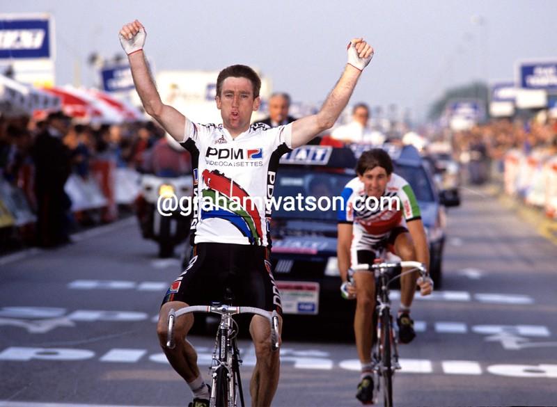 Sean Kelly wins the 1991 Giro di Lombardia