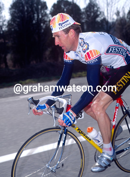 Sean Kelly in the 1993 Paris-Nice