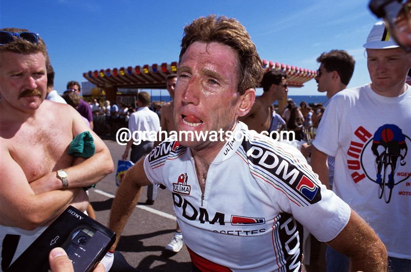 Sean Kelly in the 1991 Tour of Spain